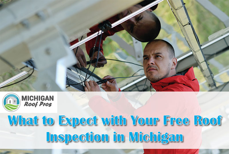 Free Roof Inspection in Michigan