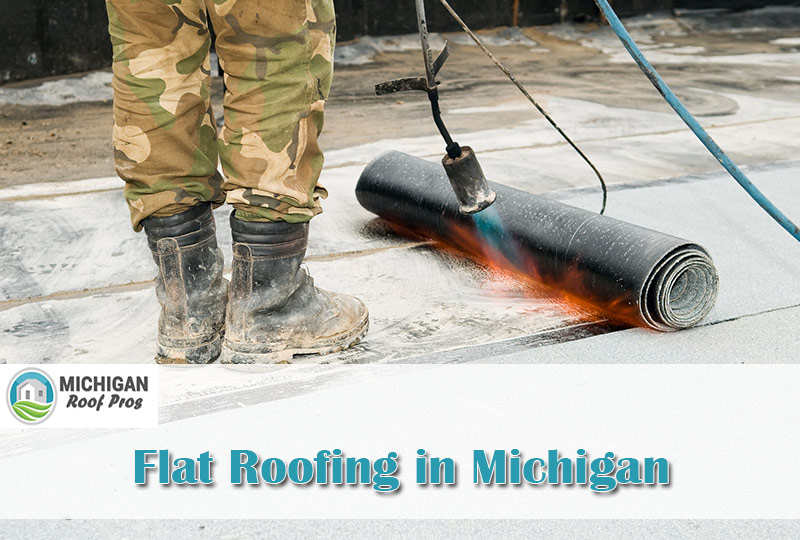 Flat Roofing in Michigan 2