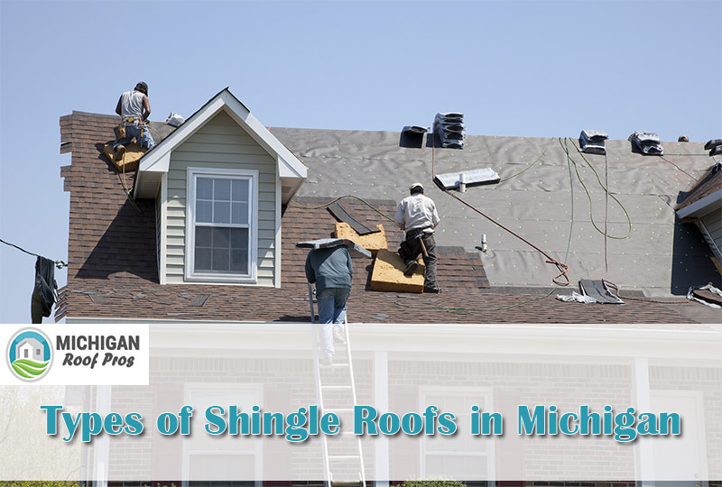 Types of Shingle Roofs in Michigan 2