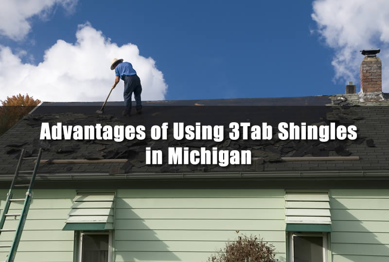 Advantages of Using 3Tab Shingles in Michigan