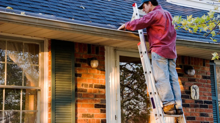 Cleaning Gutters in Canton Michigan